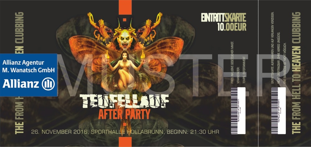 TEUFELLAUF AFTER PARTY